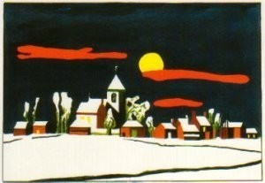 Thomas D. M. Breukel (1937) -Grote Stilte Atlas- Postcard