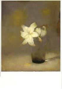 Jan Mankes (1889-1920) -Glas met lelie- Postcard