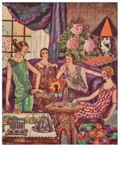 Ella Riemersma (1903-1993) -Kalenderblad, october 1925- Postcard