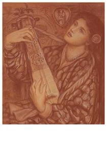 Dante Gabriel Rossetti 1828-82-A Christmas Carol- Postcard
