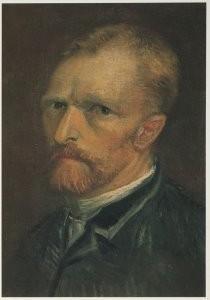 Vincent van Gogh (1853-1890) -Zelfportret, 1886- Postcard