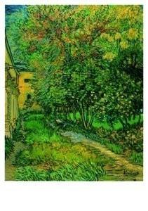 Vincent van Gogh (1853-1890) -Hospitaaltuin- Postcard