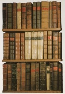 Anoniem -Books from Arts End, Old Bodleian Library- Postcard