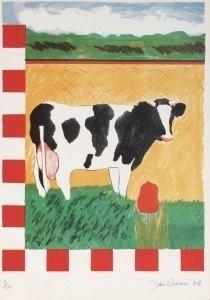 Jan Cremer (1940) -Four Seasons Sprin- Postcard