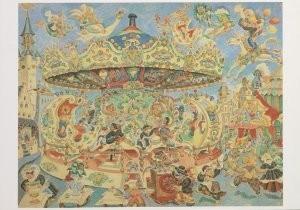 Jaap Oudes (1895-1969) -J.Oudes/Paardemolen Vromans- Postcard