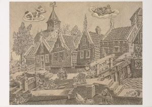 Jaap Oudes (1895-1969) -J.Oudes/Sluis Westgrafdijk- Postcard