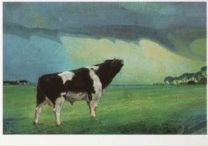 Simon Kamminga (1895-1984) -Tongerfleagen- Postcard