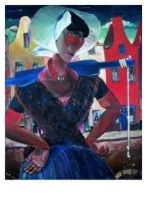 Reimond Kimpe (1885-1970) -Arnemuidse visvrouw- Postcard