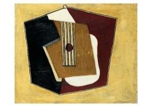 Pablo Picasso (1881-1973) -Guitare- Postcard