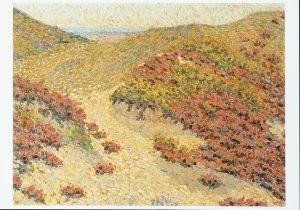 Piet Serton van (1888-1914) -Siciliaans landschap, 1908- Postcard