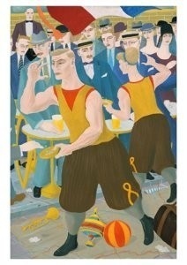 Ferdinand Erfmann (1901-1968) -Volksfeest- Postcard