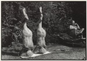 Rolf Neeser (1959) -Kopfstand- Postcard