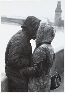 Nosov, -Hot kiss- Postcard