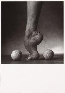 Paul Huf (1924-2002) -Huf/ Footsie tootsie- Postcard