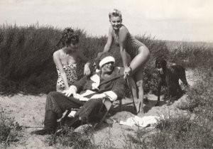 Auke Bergsma (1950) -Prettige Kerstvakantie- Postcard