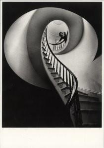 Jim Laragy -Stairway to the past- Postcard