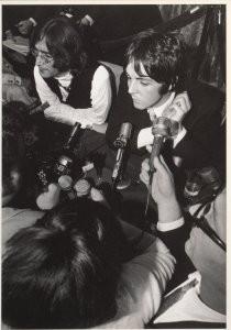 Elliott Landy (1942) -Elliott Landy/Lennon&McCartney- Postcard