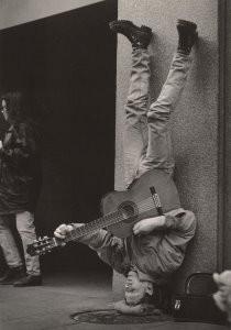 John Blanding -Upside Down Gitarist- Postcard