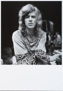 Nico van der Stam (1925-2000) -David Bowie- Postcard