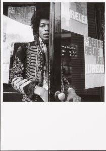 Nico van der Stam (1925-2000) -Jimi Hendrix (1966)- Postcard