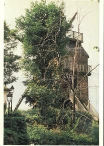 Paul Huf (1924-2002) -Paul Huf/Moulin de la gal./VvG- Postcard