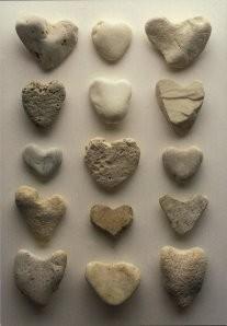 Letizia Volpi -Cuori di pietra- Postcard