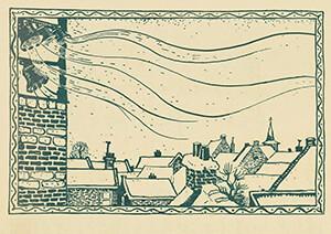 Jan Poortenaar (1886-1958) -Tekenaar: Jan Poortenaar- Postcard