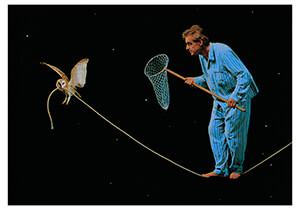 Teun Hocks (1947) -Zonder titel- Postcard