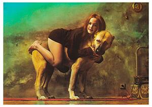 -J.Saudek/Marie's Pet.- Postcard