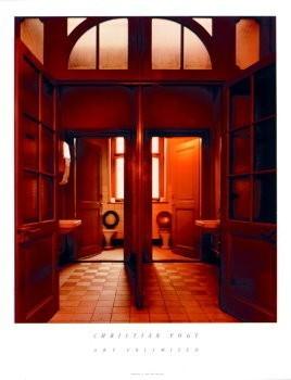 Christian Vogt (1946) -Toilets- Poster