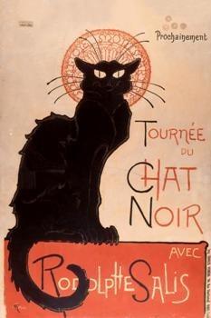 -Tournee du chat noir- Poster
