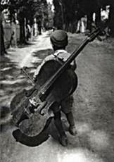 Eva Besnyo  (1910-2003) -Zigeunerjongen, Hongarije, 1931- Notecard