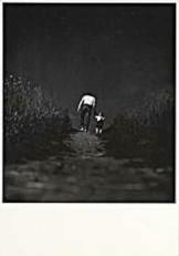 Jan Saudek (1935) -Saudek / (man & child)- Notecard
