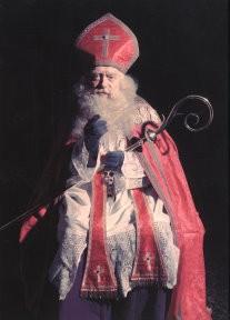 Paul Huf (1924-2002) -Sinterklaas (acteur Paul Huf sr.)- Notecard