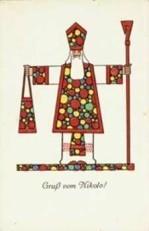 Anoniem -Sinterklaas- Notecard