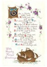 A.N.B.  -  Christmas greetings - Postcard -  1C0432-1