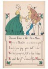 Anonymous  -  Xmas from a girl to a man - Postcard -  1C0515-1