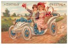 A.N.B.  -  Birthday greeting - Postcard -  1C1072-1