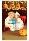 Anonymous  -  A thrilling Halloween - Postcard -  1C1322-1