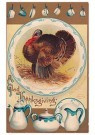 Anonymous  -  A glad thanksgiving - Postcard -  1C1356-1
