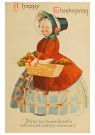 Anonymous  -  A happy thanksgiving - Postcard -  1C1375-1
