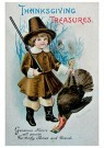 Anonymous  -  Thanksgiving treasures - Postcard -  1C1406-1