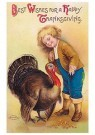 A.N.B.  -  Best wishes for a happy thanksgiving - Postcard -  1C1431-1
