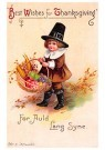 A.N.B.  -  Best wishes for thanksgiving - Postcard -  1C1443-1