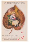 Anonymous  -  A happy new year - Postcard -  1C1595-1