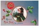 Anonymous  -  A happy new year be yours - Postcard -  1C1630-1