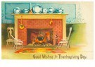 A.N.B.  -  Good wishes for thanksgiving day - Postcard -  1C1631-1