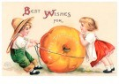 A.N.B.  -  Best wishes for a good thanksgiving - Postcard -  1C1634-1