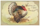 Anonymous  -  Wishing you a happy thanksgiving - Postcard -  1C1639-1