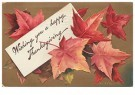 Anonymous  -  Wishing you a happy thanksgiving - Postcard -  1C1643-1